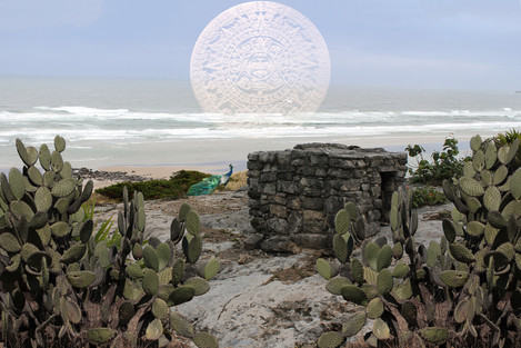 """TC-041 """"The Cool Stone Sun of Morning""""  Jawaria"""