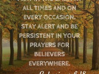 Pray In The Spirit!