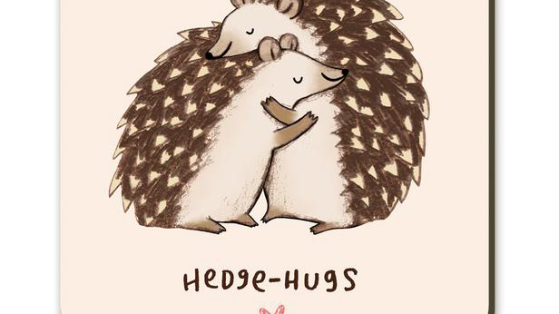 Hedgehugs Hedgehogs Coaster