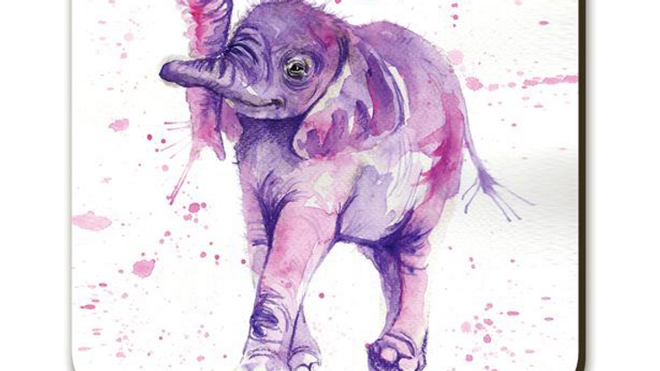 Splatter Baby Elephant