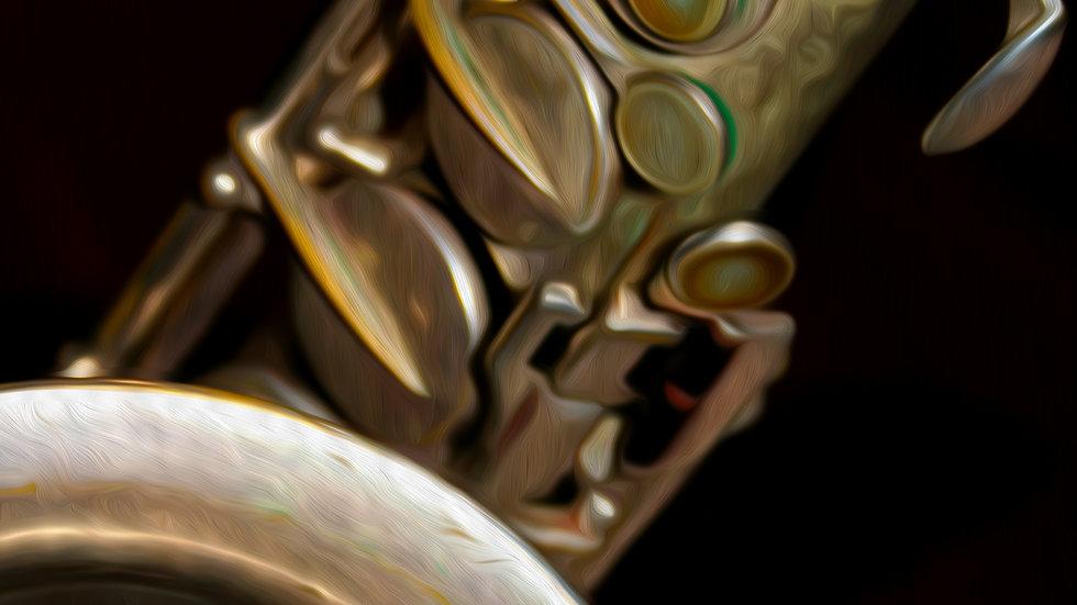 Saxophone Close Up