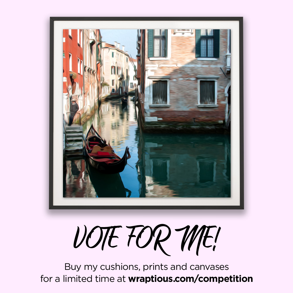 A_VoteForMe_Photo'Oil' Venice_ArtPrint