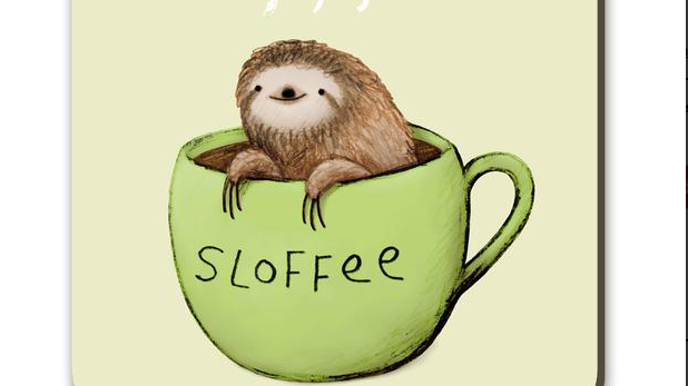 Sloffee the Sloth Coaster