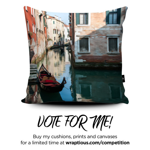 A_VoteForMe_Photo'Oil' Venice_ArtPrint-2