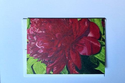 Utah Flower Blank Greeting Card