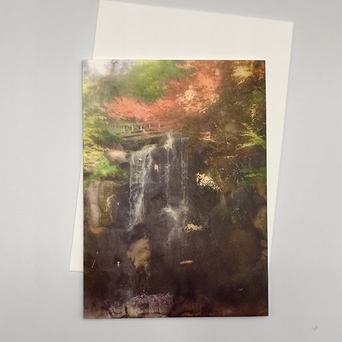 Beauty in Sadness Blank Greeting Card