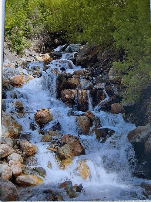 Mountain Stream 4.5in x 5in Magnet