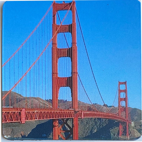 Golden Gate 2in x 2in Square Magnet