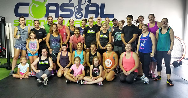 Coastal Strength & Fitness community workout.