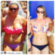 Fat loss results from working out at Coastal Strengt & Fitness in Newport News.