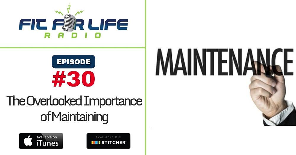 maintaining
