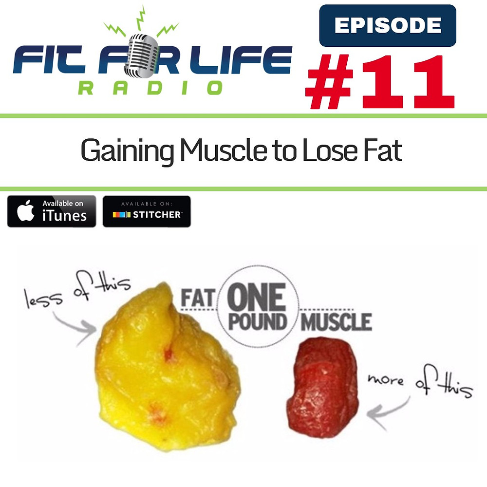 gaining muscle to lose fat