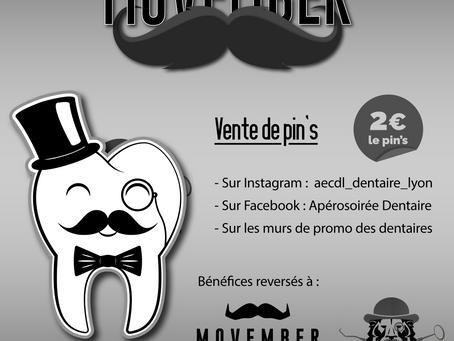 Vente Pin's Movember