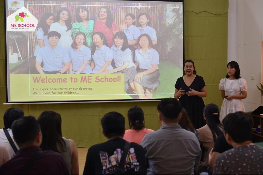 Khi bạn lựa chọn ngôi trường mầm non đó, bạn cũng sẽ trở thành 1 phần trong văn hóa, triết lý của trường.