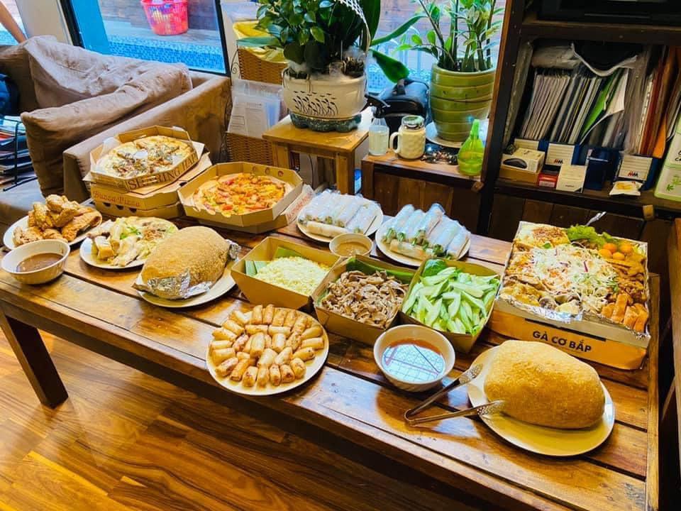 Những đồ ăn đa dạng, phong phú với mong muốn mang tới một tuần lễ tri ân hạnh phúc, ấm áp