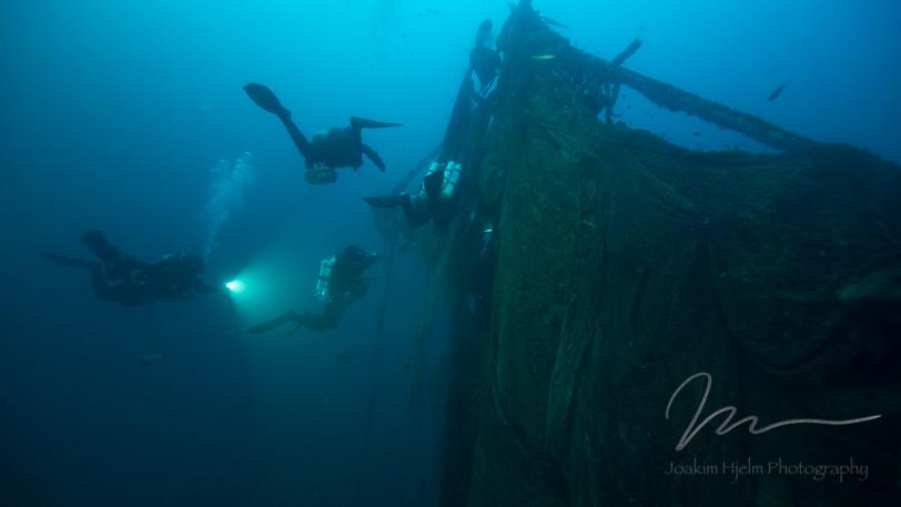 Midship Mast Nets Horizontal 2