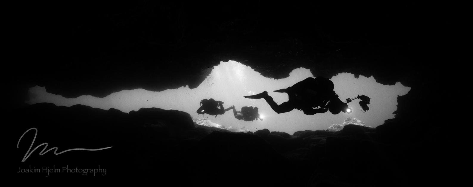 Sharks cove Cavern