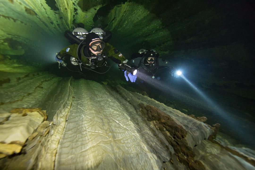 Nomash River Cave, Greg and Dennis Spider Pattern