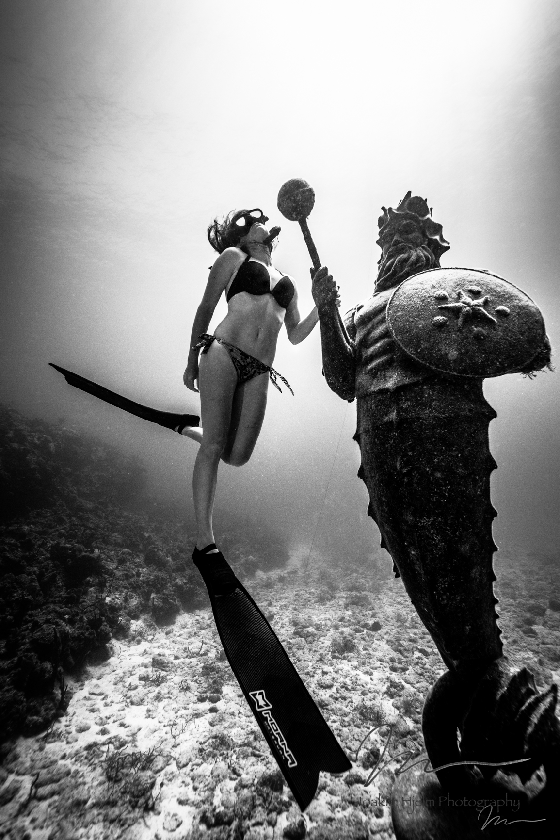 Gardian of the Reef, Jackie Black and White Godess