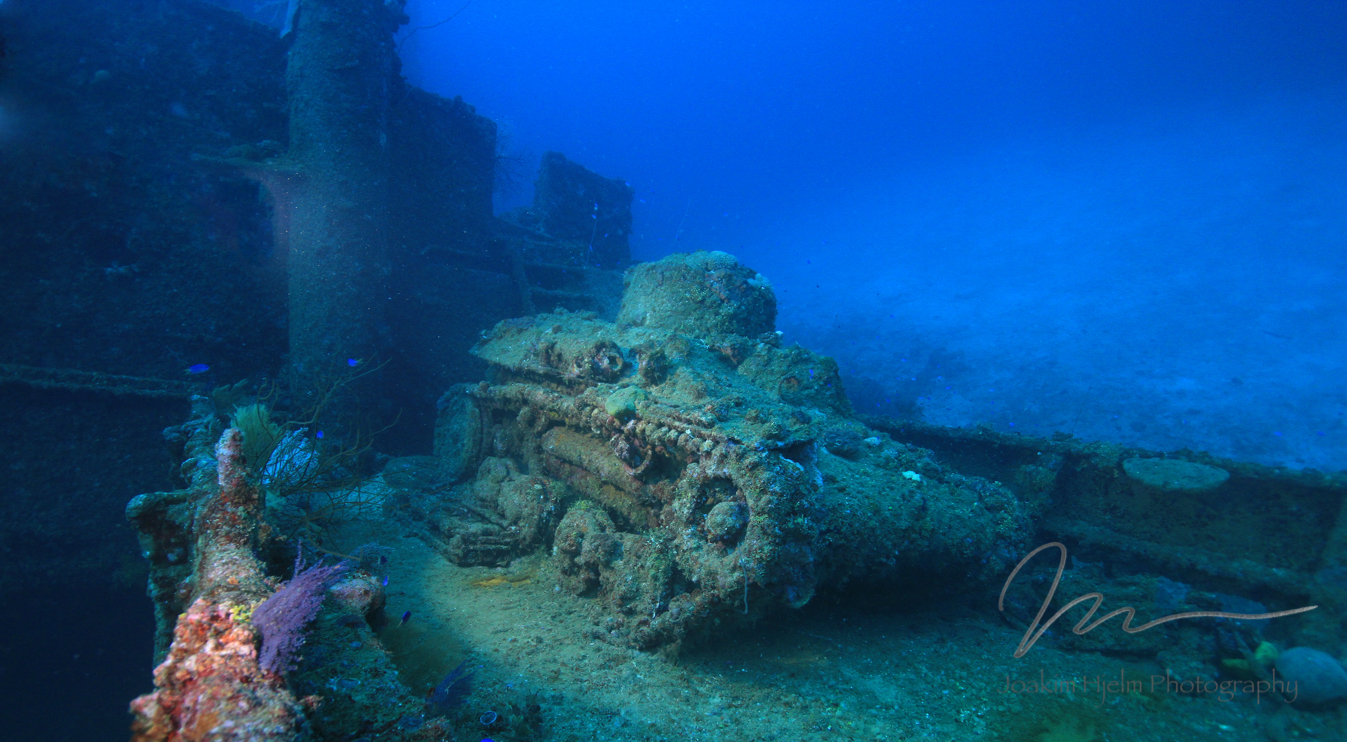 Light Tank on Nippo Maru