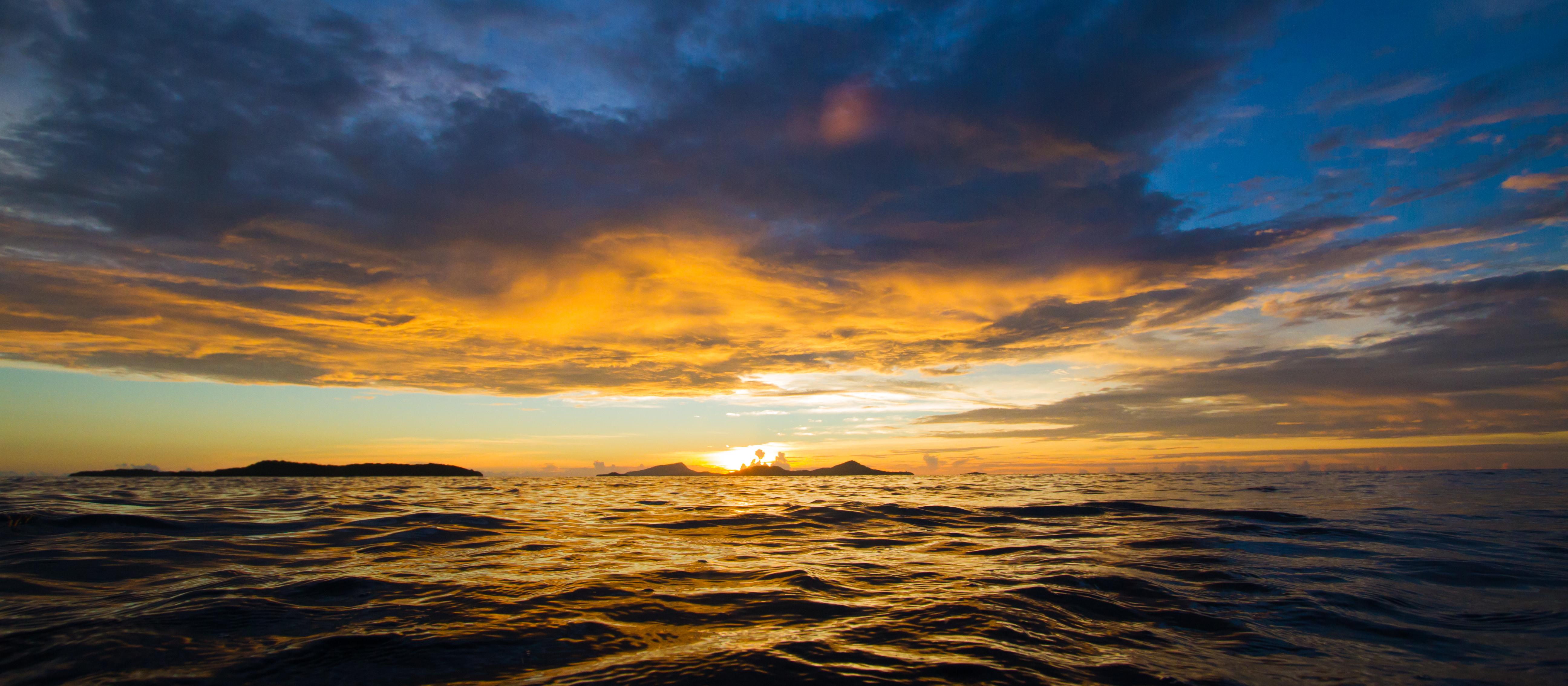 Truk Lagoon Sunset