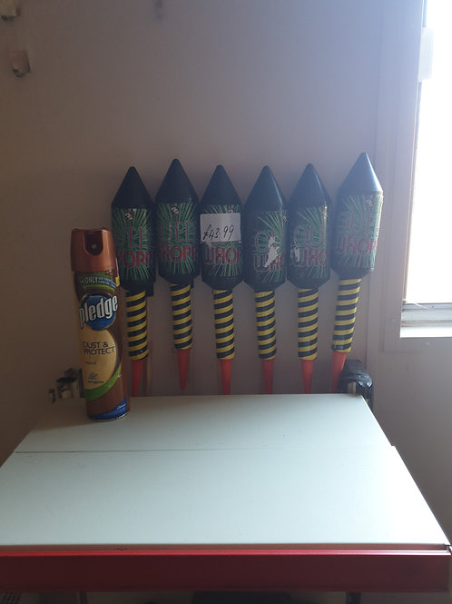 Queen Whopper rockets X 6