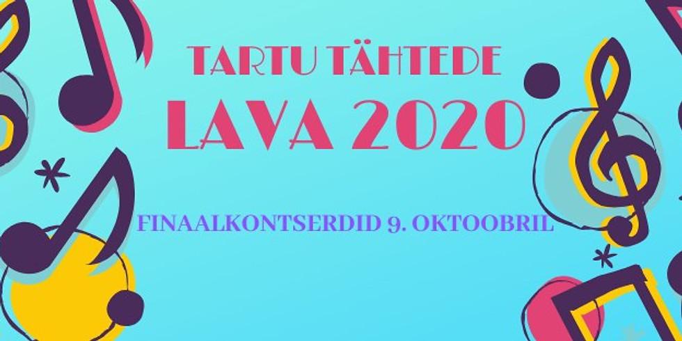Tartu Tähtede lava 2020 finaalkontserdid