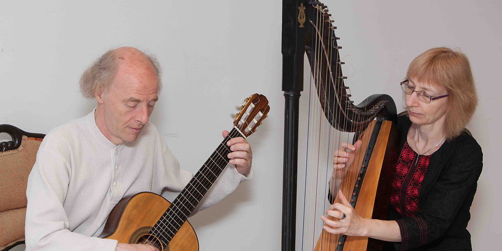 Juubeldame! Lilian Langsepp - harf, Patricio Zeoli - kitarr, charango