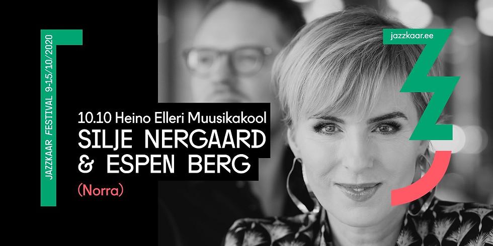 Silje Nergaard & Espen Berg (Norra) / Jazzkaar 2020 Tartus