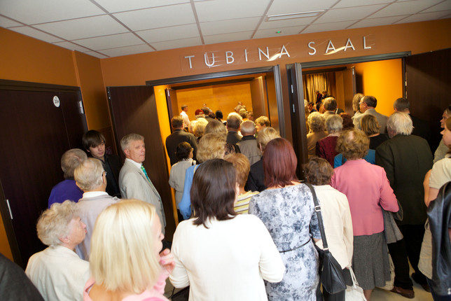Uue õppehoone ja Tubina saali avamine 15. septembril 2014