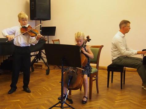Õpilased rahvusvahelisel konkursil Kaunas Sonorum