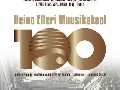 """Juubeliüritus """"Heino Elleri Muusikakool 100"""""""