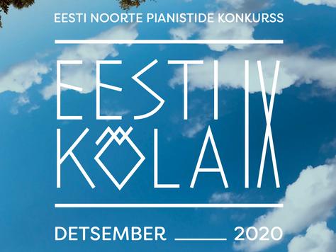 """Noored pianistid konkursil """"Eesti kõla IX"""""""