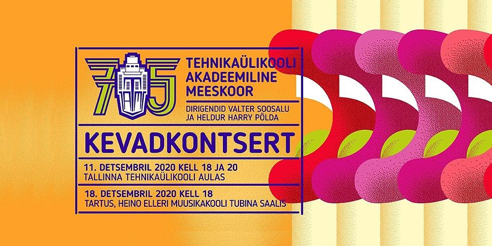 Kontsert lükkub edasi! Kevadkontsert Tartus