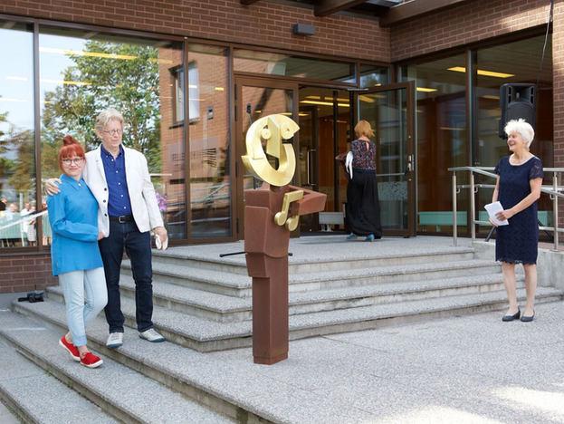 Skulptuuri Väike Heino avamine ja avaaktus 26.08.2019