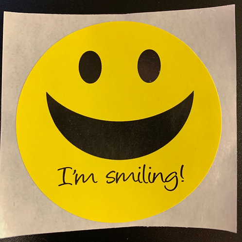 I'm Smiling - Stickers (100-pack)
