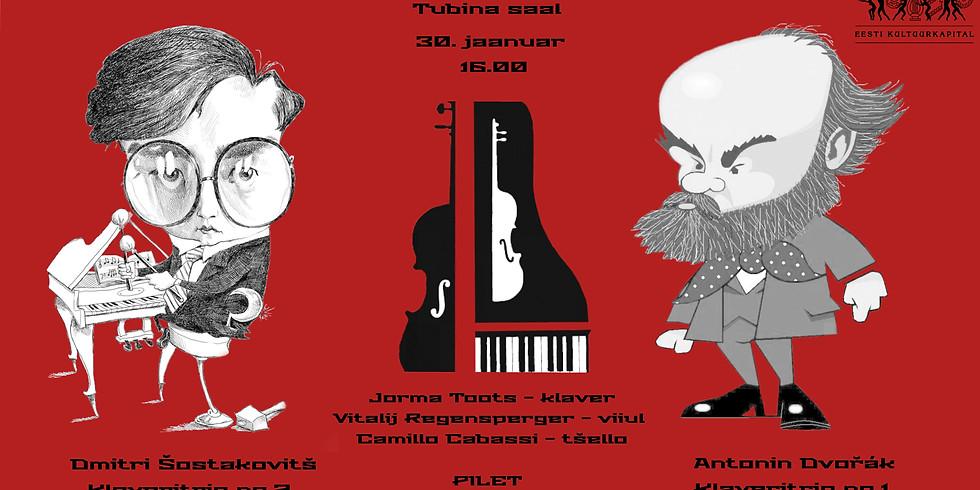 Dvořák ja Šostakovitš - klaveritriod