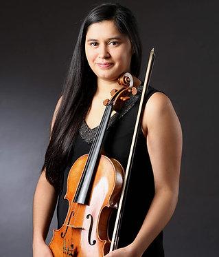 Paulina Riquelme - vioola. 25.-29.09.2020