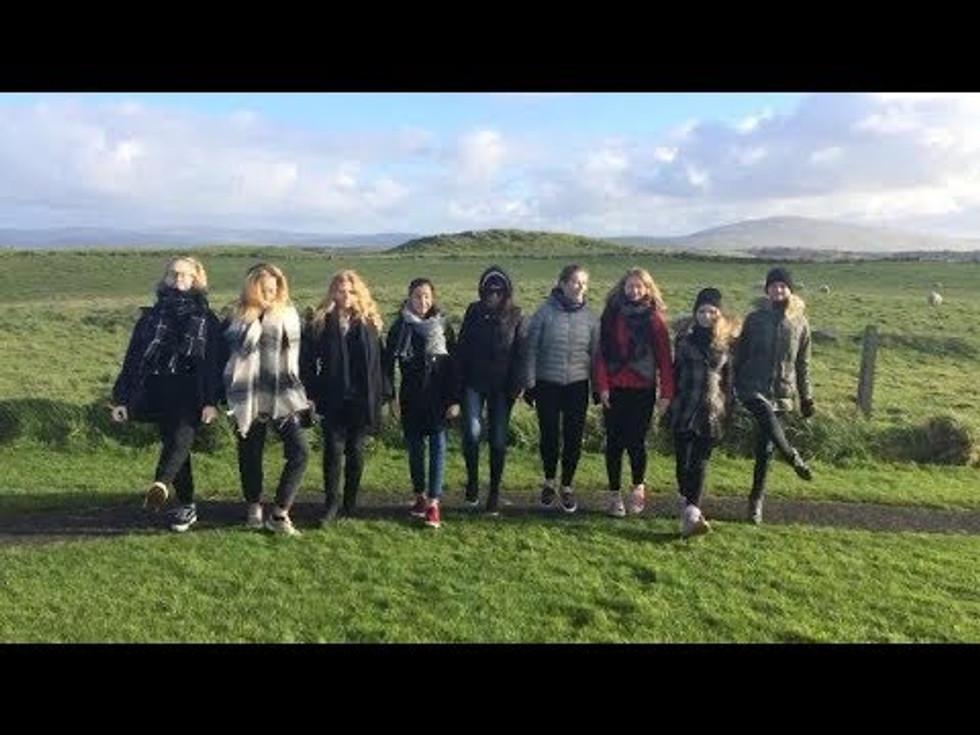 Elleri tütarlastekoor Põhja-Iirimaal, sügis 2017