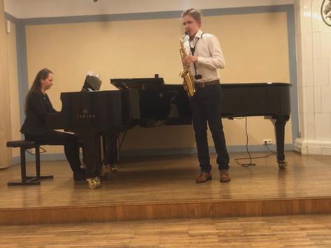 EMLi konkursi saksofoni- ja flöödiõpilaste lõppvooru tulemused