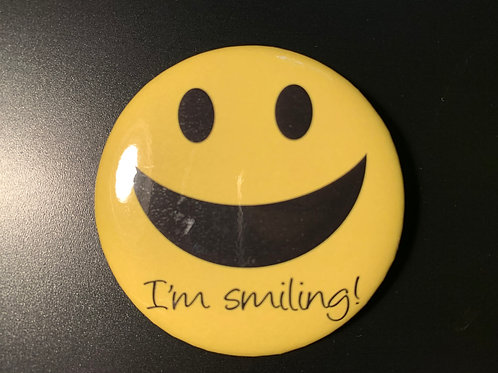 "I'm Smiling - 2.25"" Button"