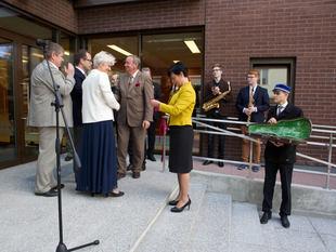 Elleri Muusikakool 95, uue õppehoone avamine. 15.09.2014