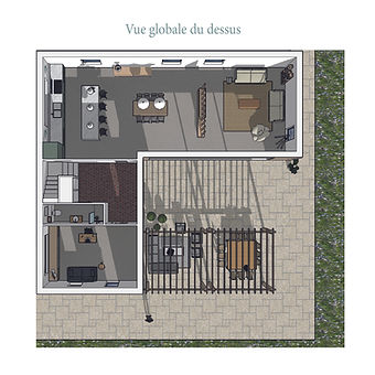 EDAA_MaisonProvence_3D vue du dessus-06.