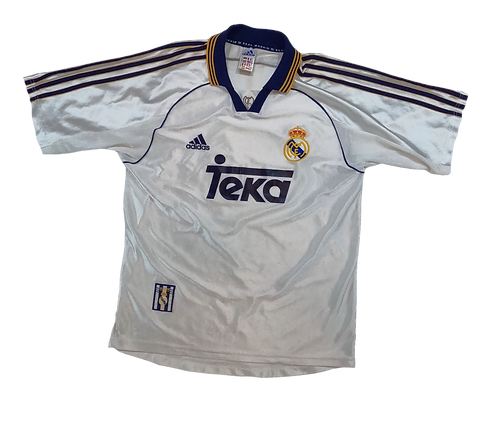 Real Madrid 1998-00 Home Jersey (Small)