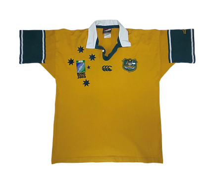 Wallabies 2003 Rugby World Cup Home Jersey (Large)