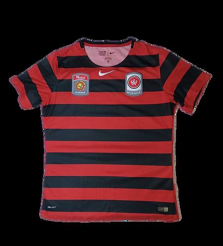 Western Sydney Wanderers Women's 2015-16 Home Jersey (Youth XL)