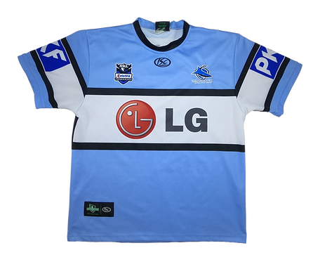 Cronulla-Sutherland Sharks 2009 Home Jersey (Large)