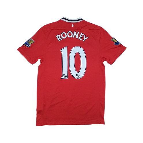 Manchester United 2011-12 Home Jersey #10 Wayne Rooney (Small)