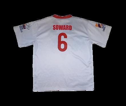 St George Illawarra Dragons 2012 Home Jersey #6 Jamie Soward (XL)