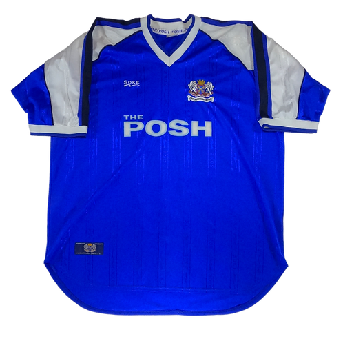 Peterborough United 2000-2001 Home Jersey (XXL)